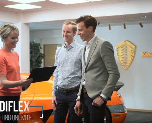 Koenigsegg väljer Diflex som IT-leverantör